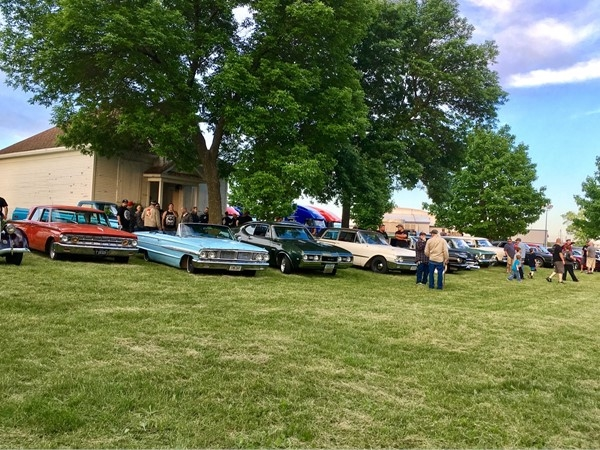 A perfect backdrop for the Annual Show and Shine hosted at the NCC Fairgrounds