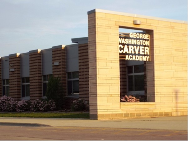 George Washington Carver Academy, in Waterloo, is the first STEM middle school in Iowa
