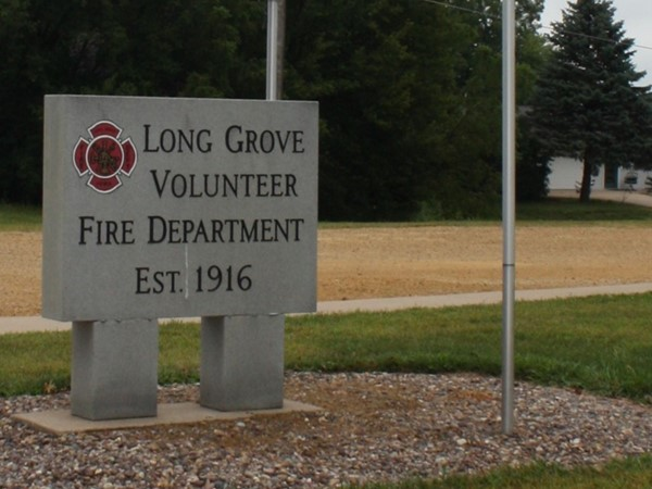 Long Grove Volunteer Fire Department is located on North 1st Street