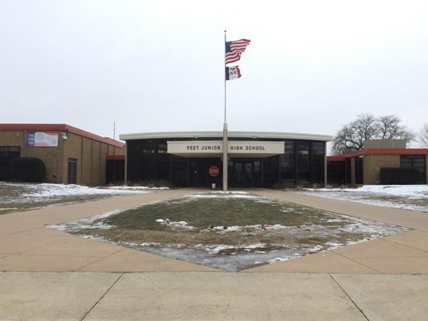 Peer is one of two junior high schools in Cedar Falls