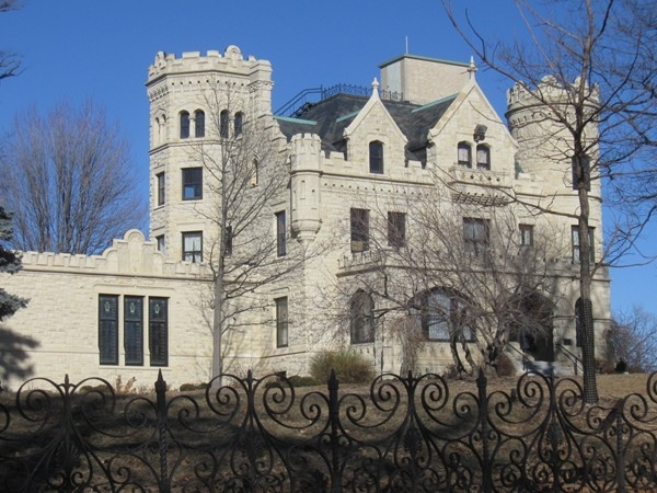 Joslyn Castle is a great location for private parties and wedding receptions.