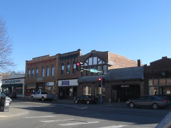 Historic downtown Benson in Omaha