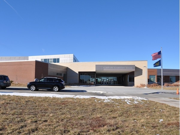 Kloefkorn Elementary - one of Lincoln's newest additions.