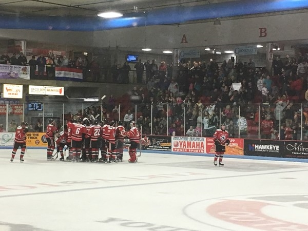 Waterloo Blackhawks are in the 2017 Clark Cup Playoffs