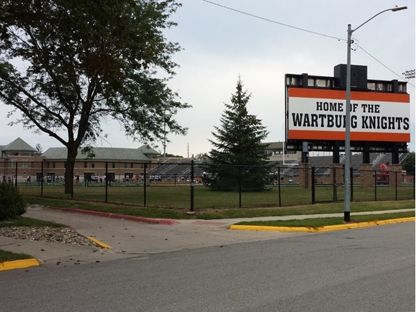Catch a Wartburg Knights Football game this fall! Wartburg College in Waverly