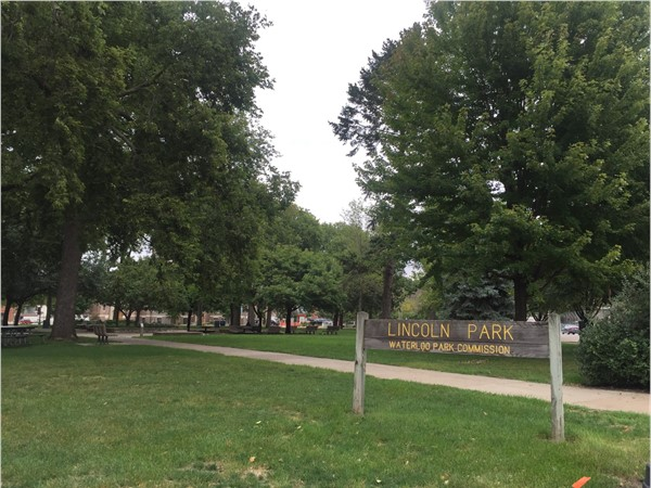 Lincoln Park is located in downtown Waterloo and is used for a variety of city events
