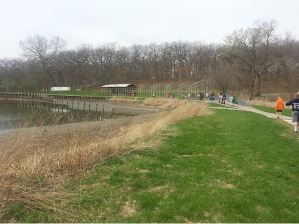 The pond and shelters at Greewood Park are undergoing a total overhaul and will be done soon!