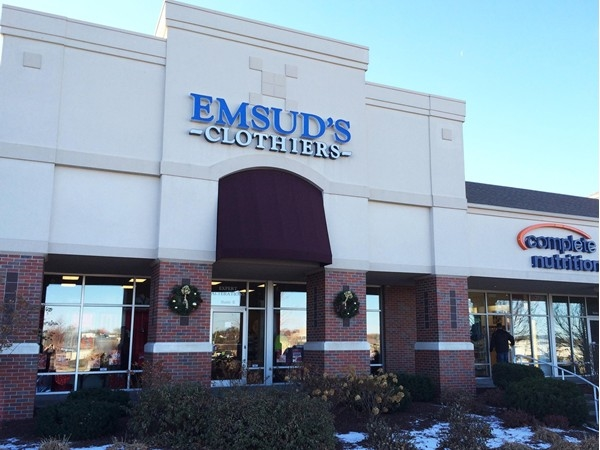 I've been going to Emsud's clothier for years, read the fascinating family story on JournalStar.com
