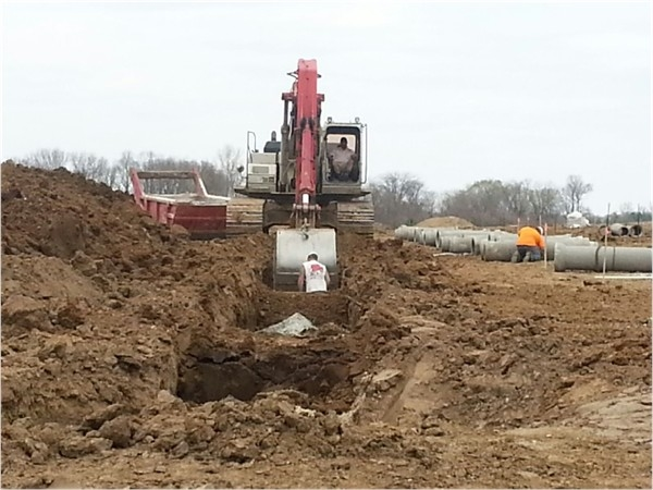 Progress being made at Lost Lakes Development, located near Big Creek entrance and TCI Golf Course