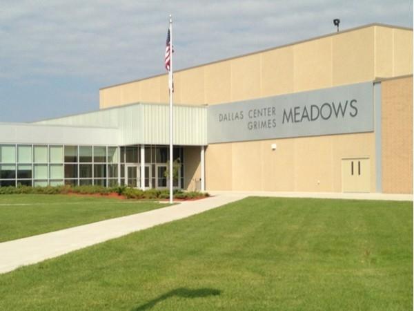 Dallas Center-Grimes Meadows is for grades eight through nine