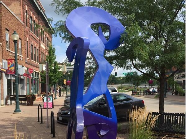 Public art - Main Street Community on Main Street