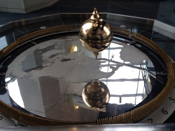 Pendulum at the Science Center of Iowa