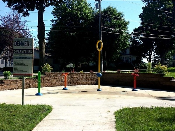 Free Splash Pad! Perfect for the little one's on hot summer days
