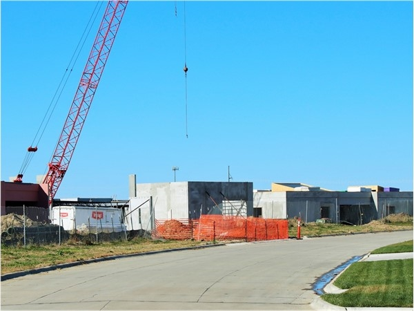 New school is under construction