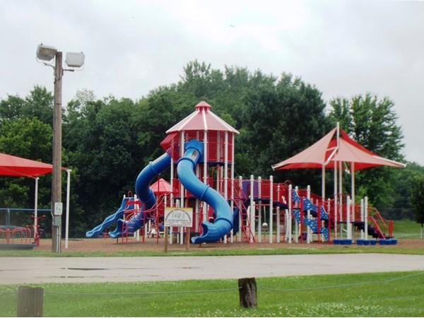 Deerwood Campground Playground ~ So much fun