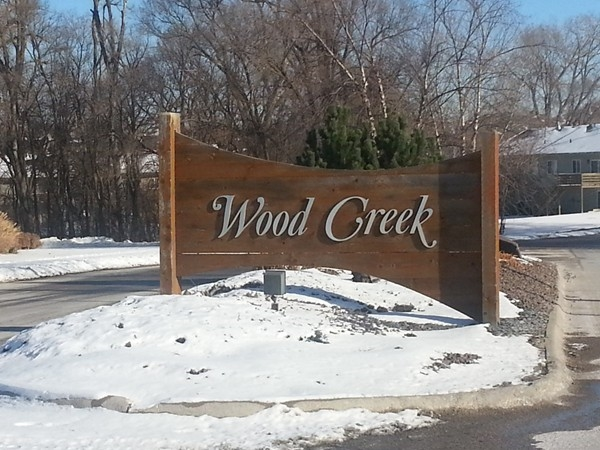 The entrance to Wood Creek
