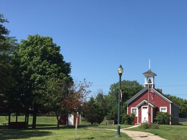 Historic Little Red Schoolhouse in Cedar Falls