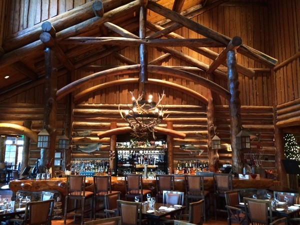 The Lodge Bar and Grill. A few Blocks West of Wilderness Hills. Beautiful!