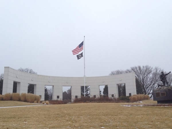 Memorial Park and monument