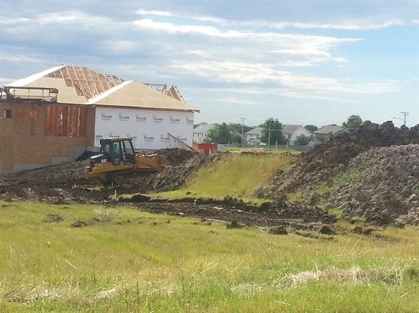 New homes are going up in Rock Creek Crossing, one of Ankeny's newest developments