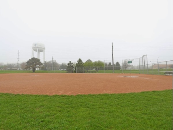 Hawkeye Park ball diamonds