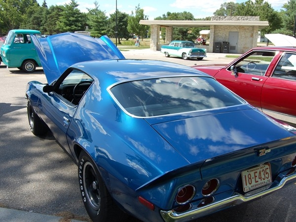 Classic Car display held at Antelope Park in July.