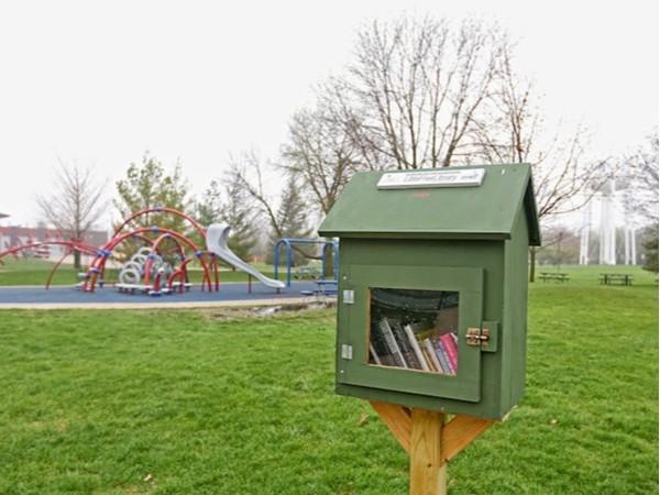 "Hawkeye Park ""Little Free Library"""