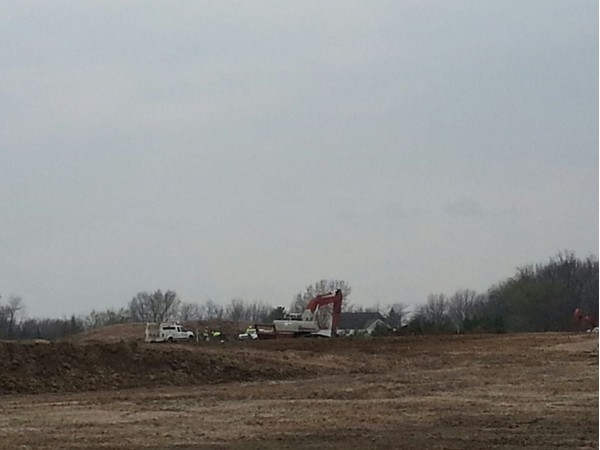 Work is being completed for the new Lost Lakes development located near Big Creek Lake entrance