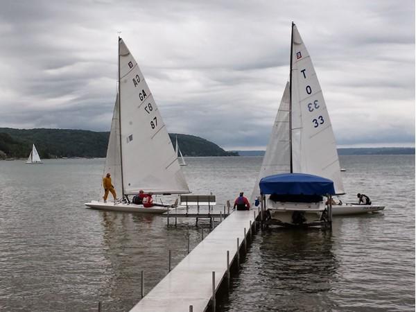 Yacht club races, Crystal Lake