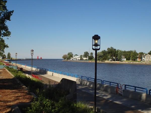 Grand River to Lake Michigan