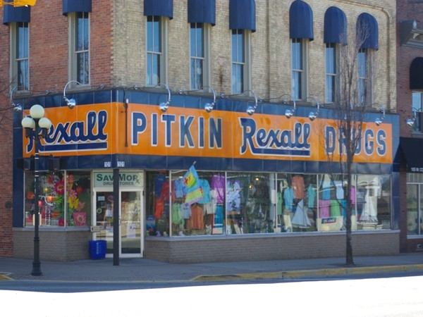 Pitkin's in downtown Whitehall is a local landmark and they have everything