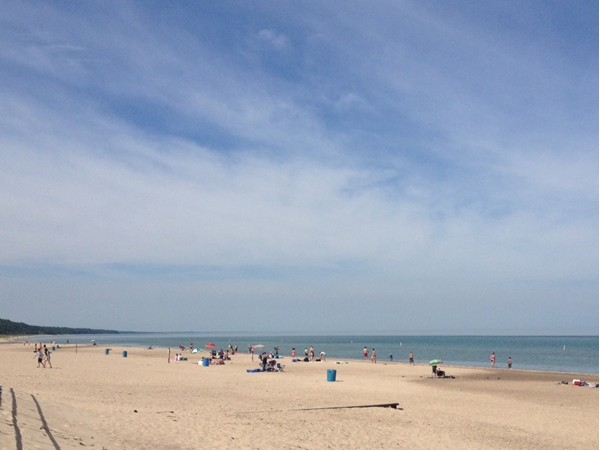 Such beautiful beaches to enjoy in Southwest Michigan, like this one at Warren Dunes State Park