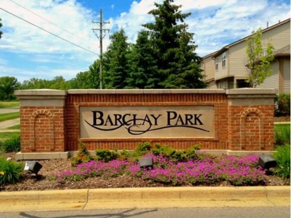 Barclay Park entrance