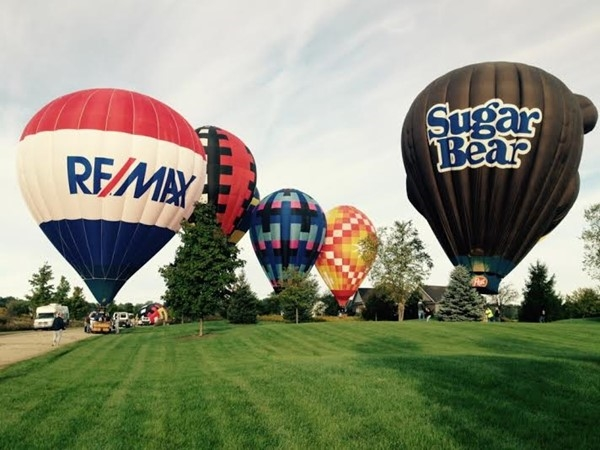 Balloon Festival at Gull Meadow Farms in Richland - September 20, 2015