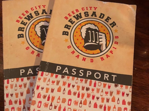 Check out the Beer City Brewsader Passport - Visit breweries around GR and get stamped