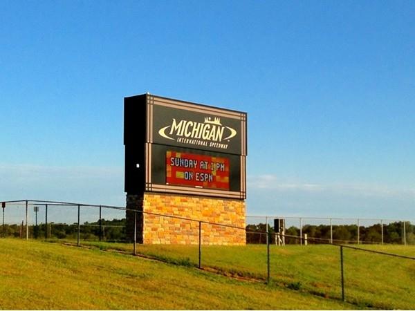 Michigan International Speedway entrance