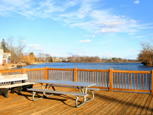 O'Donnell Park on the Shiawassee River in Fenton