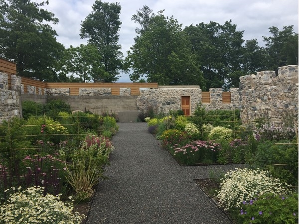 Beautiful Botanic Gardens at the Historic Barns Park, Grand Traverse Commons