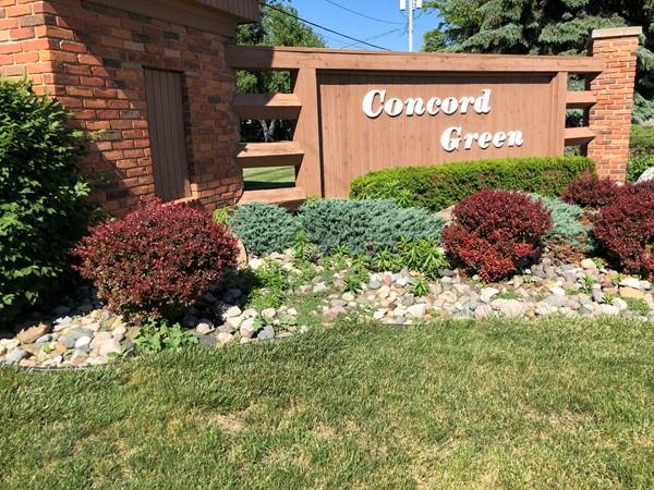The convenient Concord Green