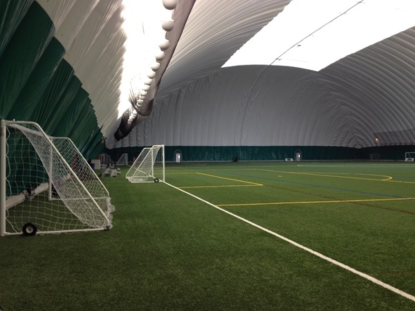 The Legacy Center indoor turf field has been full of teams rotating through since it opened