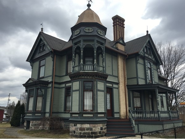 "Striker House was built in the 1880s and was once considered ""handsomest residence in Hastings"""