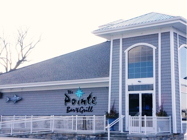 The Pointe, for fine dining on the water