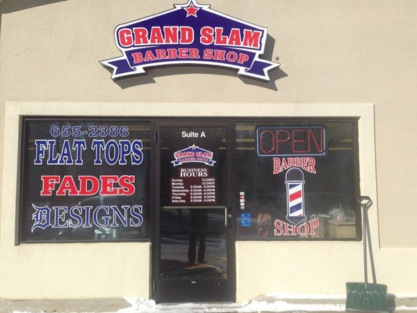Remember the Grand Slam Barber Shop for an old school experience in Grand Blanc Township!