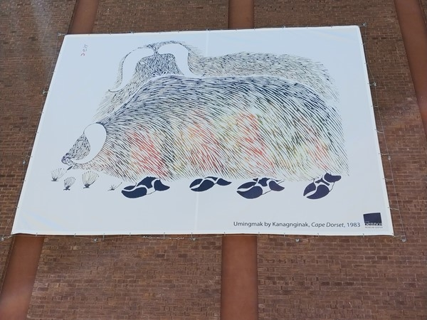 Dennos Museum art installations- bringing art to the streets of Traverse City