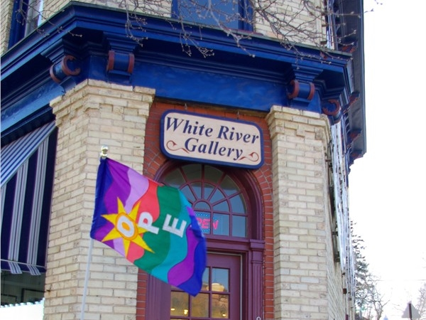 Find a special piece of locally-made art at the White River Gallery in Montague.