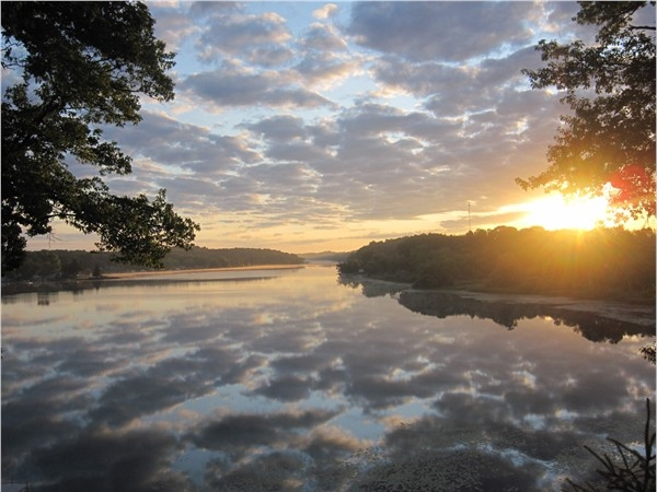 Gorgeous view of Long Lake near Cloverdale