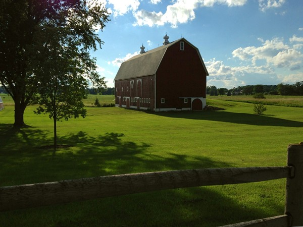 One of Saline's many beautiful barns