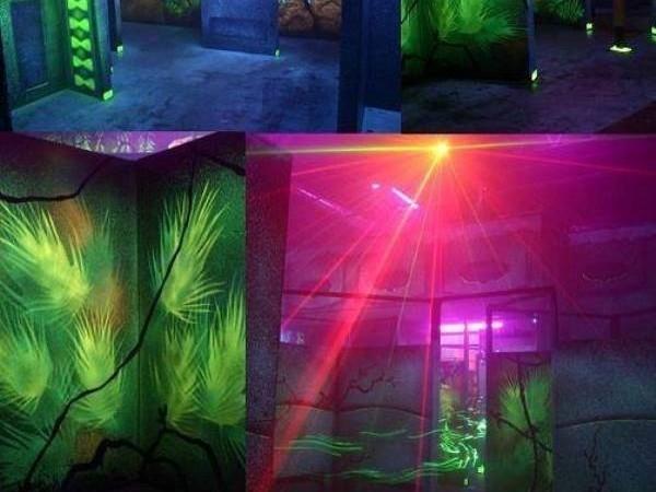 Castaway Play Cafe, Laser Tag Arena