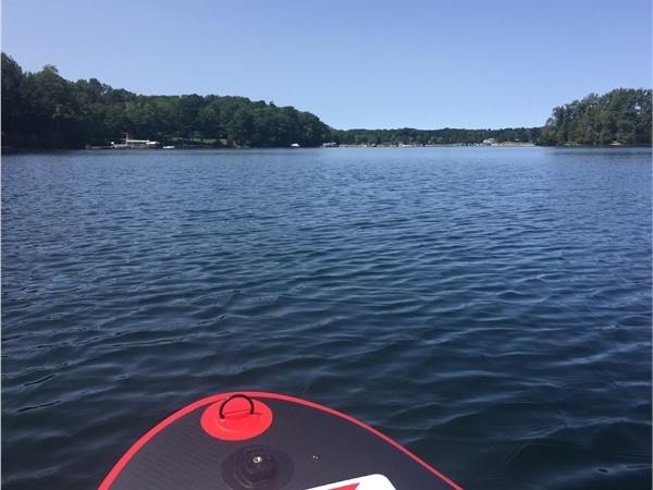 Long Lake is a great all sports lake! Eagles and loons provide the background music when paddling