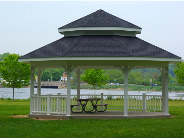 Whitehall Community Gazebo in Goodrich Park